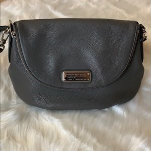 Marc Jacobs Gray Classic Q Natasha Crossbody Bag